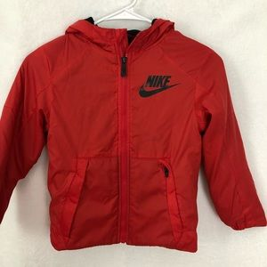 Nike Fleece Lined Down Jacket Sz 6m